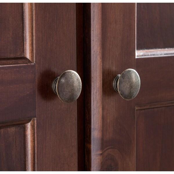 Wood Furniture Door Grain Wood Furniture Shaker 2door Solid Cherry Finish Armoire Free Shipping Today Overstockcom 17180213 Door