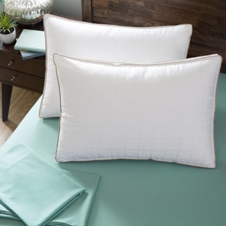 spring air 300 thread count gusset excell pillow set of 2
