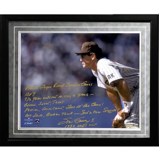 Steve Garvey Facsimile 'NL Consecutive Streak' Framed Metallic 16x20 Story Photo