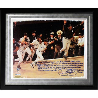 Cecil Fielder Facsimile '1996 World Series' Framed Metallic 16x20 Story Photo