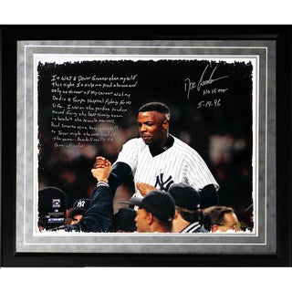 Doc Gooden Facsimile 'Yankees No-Hitter' Framed Metallic 16x20 Story Photo