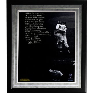 Don Larsen Facsimile 'World Series Perfect Game' Framed Metallic 16x20 Story Photo