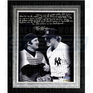 Goose Gossage Facsimile 'Thurman M on' Framed Metallic 16x20 Story Photo