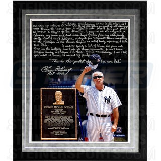 Goose Gossage Facsimile 'Goose Gossage Day' Framed Metallic 16x20 Story Photo