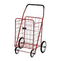 Jumbo Shopping Cart Red