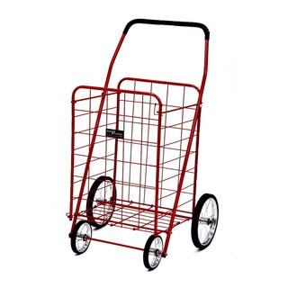 Jumbo Shopping Cart Red