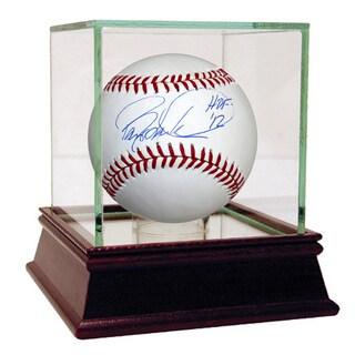 """Barry Larkin Signed MLB Baseball w/ """"HOF 2012"""" insc"""