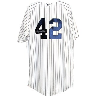 Mariano Rivera Authentic Yankees Home Jersey (Signed on Back)