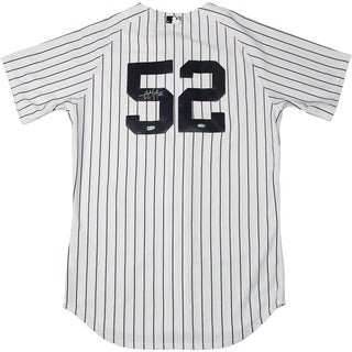 CC Sabathia Authentic Yankees Home Jersey (Signed on Back) (MLB Auth)