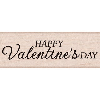 "Hero Arts Mounted Rubber Stamp 2.75""X1""-Happy Valentine's Day"