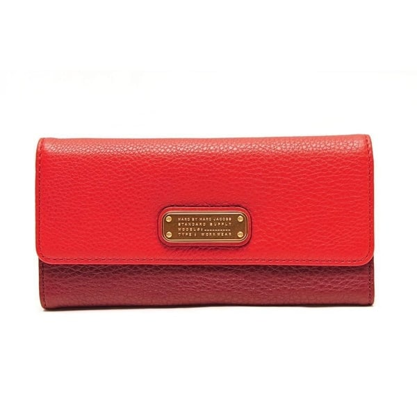 75c98b7fab1 Shop Marc By Marc Jacobs Q-Long Leather Wallet - Free Shipping Today ...