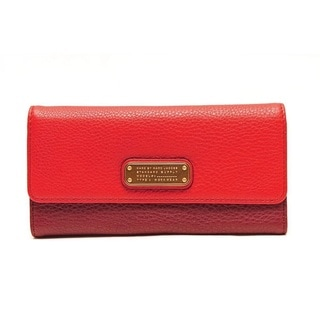 Marc By Marc Jacobs Q-Long Leather Wallet