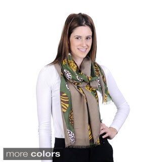 J. Furmani Circles of Patterns Scarf