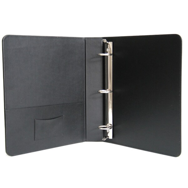 Shop Royce Leather 1.5 Inch Ring Binder In Genuine Leather
