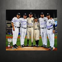 Yankees Final Game at Yankee Stadium Perfect Game Battery Mates w/ PG Insc. 16x20 Photo (MLB Auth)