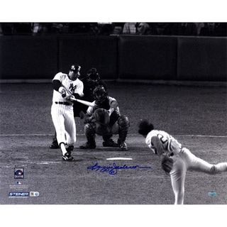 Reggie Jackson Signed 1977 WS Home Run Off Sosa 16x20 Photo (MLB Auth)