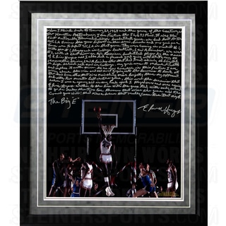 Elvin Hayes Facsimile ' Being Big E' Framed Metallic 16x20 Story Photo