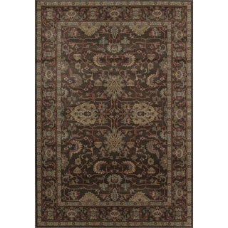 Treasures Persian-inspired Power Loomed Polyester Area Rug (5' x 8')