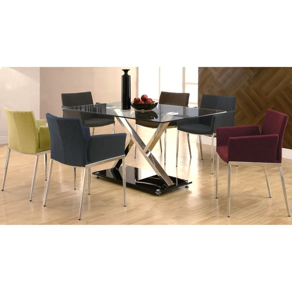 Mcguire Upholstered Dining Chairs with Chrome Legs Set of  : Mcguire Upholstered Dining Chairs with Chrome Legs Set of 2 b88574c0 aaba 4179 ac38 3b5aed250e45600 from www.overstock.com size 600 x 600 jpeg 36kB