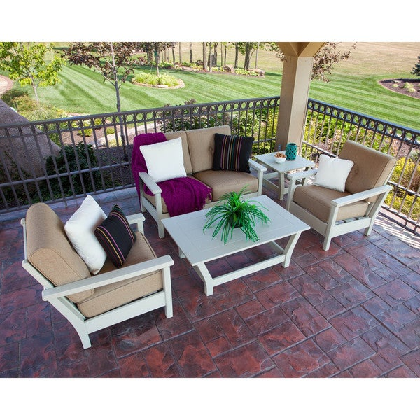 Ivy Terrace 5 Piece Deep Seating Set
