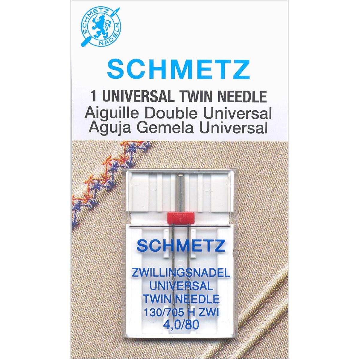 Twin Machine Needle-Size 4.0/80 1/Pkg (Size 4.0/80 1/Pkg)