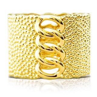 Adoriana Chunky Chain Gold Cuff