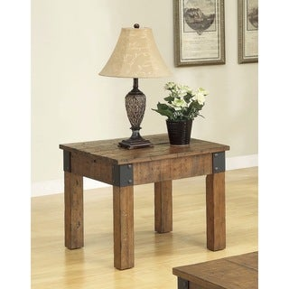 Coaster Company Rustic End Table