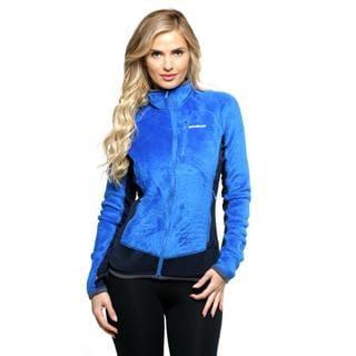 Womens Blue Fleece Jacket - Best Jacket 2017