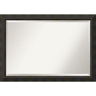 Wall Mirror Extra Large, Signore Bronze 41 x 29-inch
