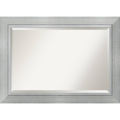 Wall Mirror Extra Large, Romano Silver 44 x 32-inch - extra large - 44 x 32-inch
