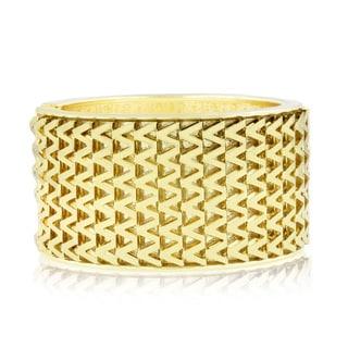 Adoriana Shimmering Gold Cuff