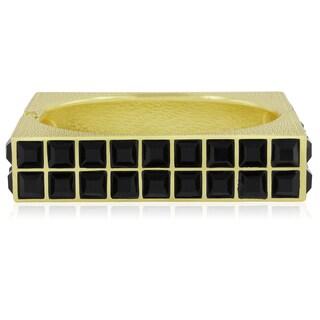 Adoriana Square Gold Cuff