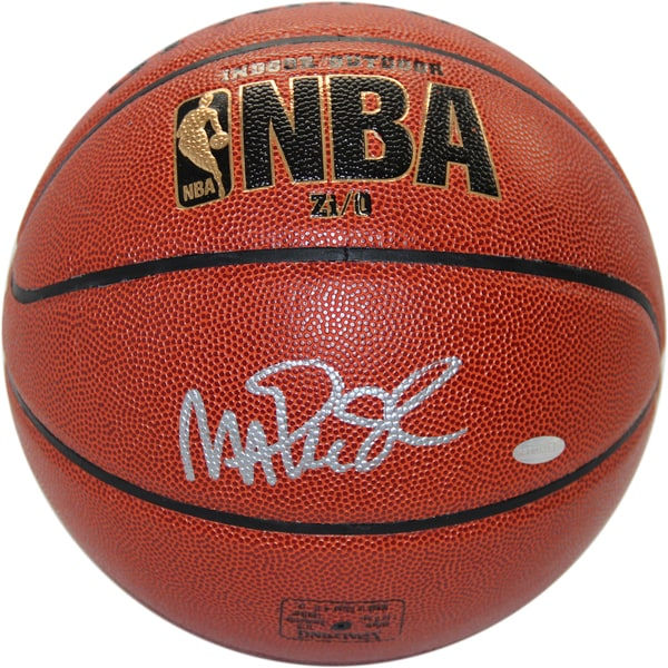 Magic Johnson Signed NBA Zi/O Basketball (Signed in Silver)