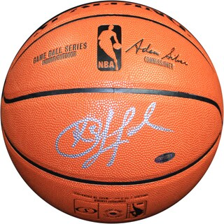 Chris Paul Signed I/O Basketball (Signed in Silver)