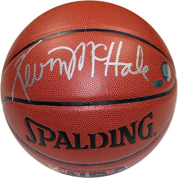Kevin McHale Signed I/O Brown Basketball