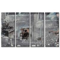 Ready2HangArt 'Inkd II' 4-piece Canvas Art Set