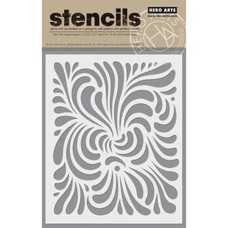 "Hero Arts Stencils 6.25""X5.25""-Swirl"