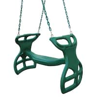 Swing-N-Slide Green Plastic Dual Ride Glider