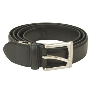 Travelon Black Leather Money Concealing Belt