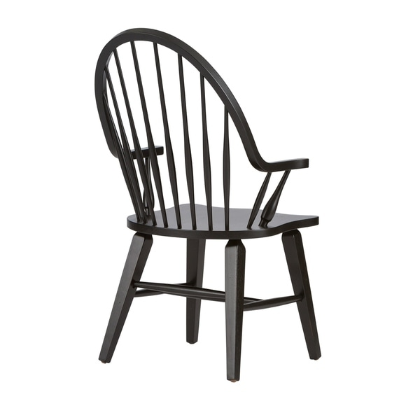 Shop hstone Traditional Rustic Black Windsor Arm Chair - Free ... on product policy, information policy, work policy, payment policy, refund policy, supply policy, shipping policy, sample employee uniform policy, service policy, collection policy, cancel policy, exchange policy, follow policy, termination policy, check out policy, credit policy, request policy, call policy, use policy, rehire policy,