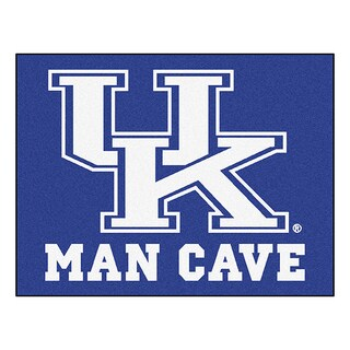 Fanmats University of Kentucky Blue Nylon Man Cave Allstar Rug (2'8 x 3'8)