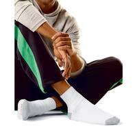 Hanes Men's Ankle Socks, 12-Pack