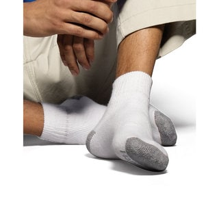 Hanes Classics Men's ComfortSoft Ankle Socks 6-Pack