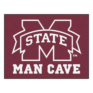 Fanmats Mississippi State University Red Nylon Man Cave Allstar Rug (2'8 x 3'8)