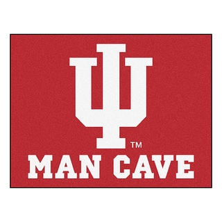 Fanmats Indiana University Red Nylon Man Cave Allstar Rug (2'8 x 3'8)