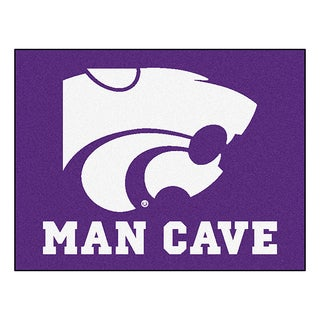 Fanmats Kansas State University Purple Nylon Man Cave Allstar Rug (2'8 x 3'8)