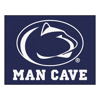 Fanmats Penn State Blue Nylon Man Cave Allstar Rug (2'8 x 3'8)