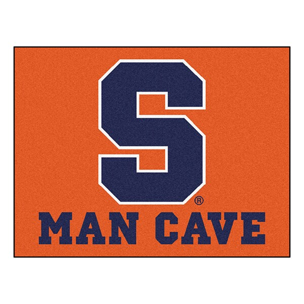 Fanmats Syracuse University Orange Nylon Man Cave Allstar Rug (2'8 x 3'8)