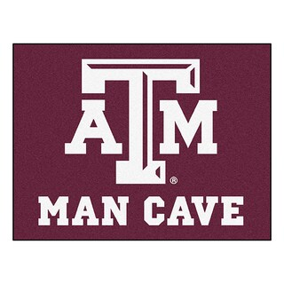 Fanmats Texas A&M University Burgundy Nylon Man Cave Allstar Rug (2'8 x 3'8)