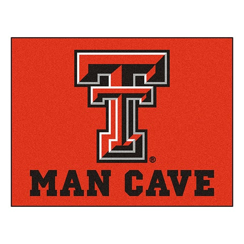 Fanmats Texas Tech University Red Nylon Man Cave Allstar Rug (2'8 x 3'8)